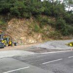 La rénovation de la route de la Chièze a commencé
